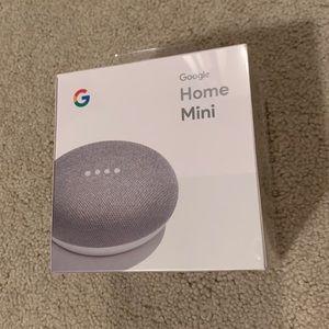 Unopened Google Home Mini (Chalk Color)